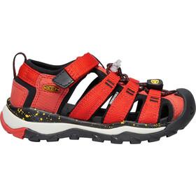 Keen Newport Neo H2 Sandals Kids, fiery red/golden rod